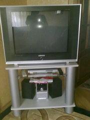 Продам телевизор SAMSUNG черный с тумбой