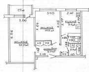 2 комнатную квартира в городе Солигорск