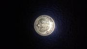 Монета золотая 1902 года, 10рублей