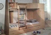 кровать двухъярусная Крепыш 02 со шкафом