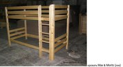 кровать двухъярусная Морисса (лак)