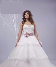 Продаю свадебное платье бу  1р